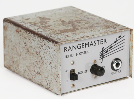 the iconic appearance of the Dallas Rangemaster pedal