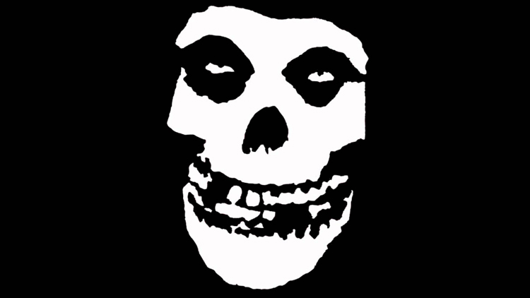 punk rock music brands Misfits skull image