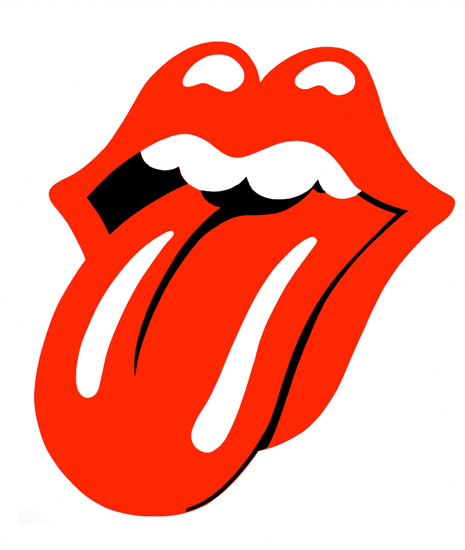 simplicity makes the Rolling Stones' brand logo powerful and iconic