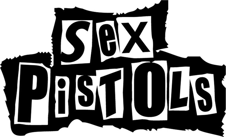 punk rock music brands Sex Pistols logo