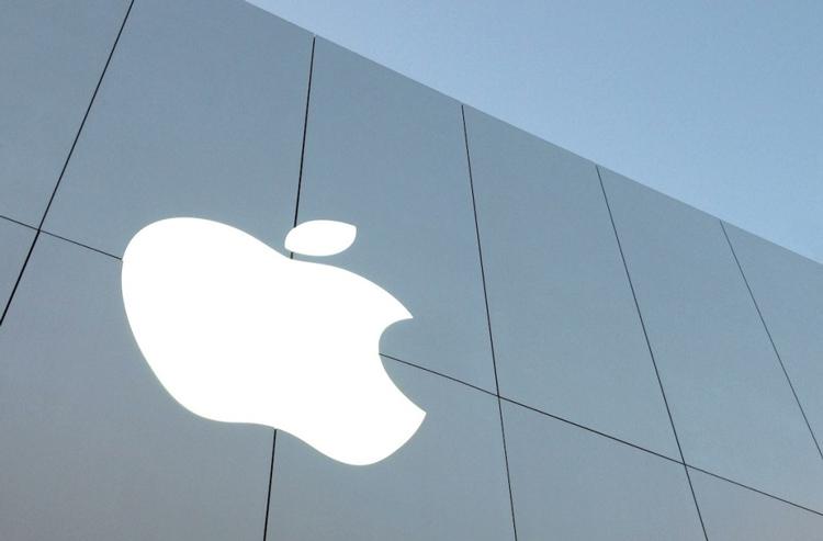 apple store exterior branding signage