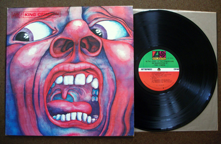 Bizarre cover image for King Crimson's In the Hall of the Crimson King album