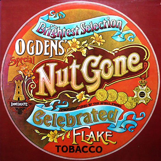 Memorable packaging for Small Faces Ogden's Nut Gone Flake