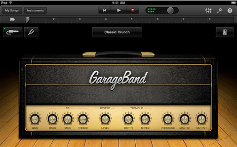 GarageBand app created a new standard for making tracks on the go